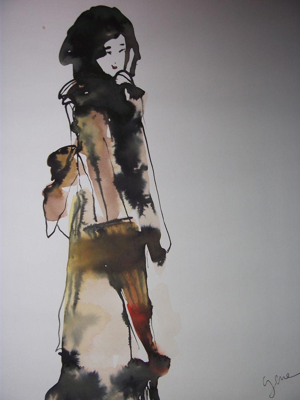 genevieve Bonnet-Cadith parapluiechine10