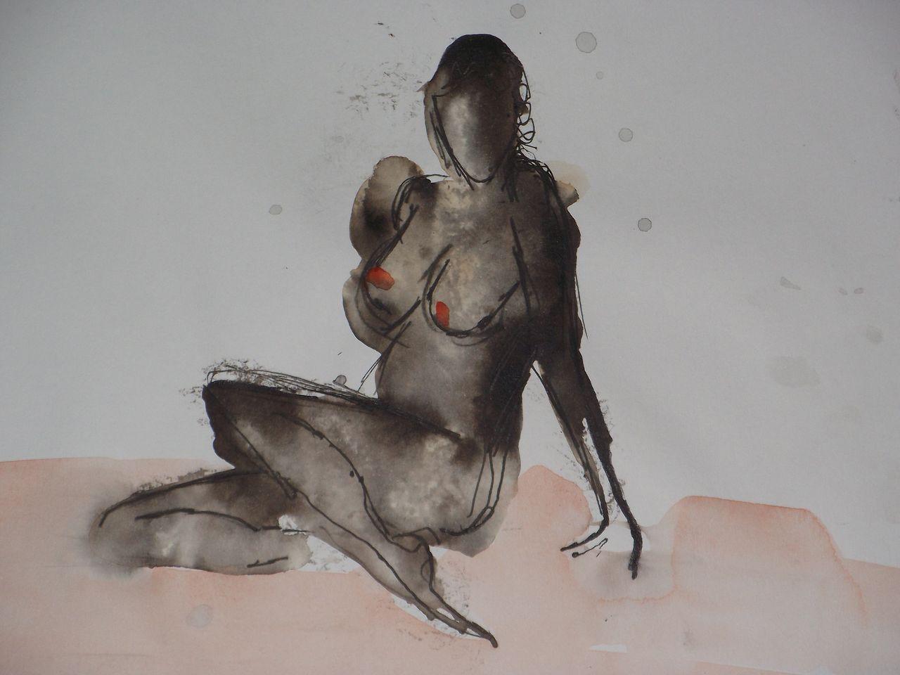 genevieve Bonnet-Cadith seins rouges
