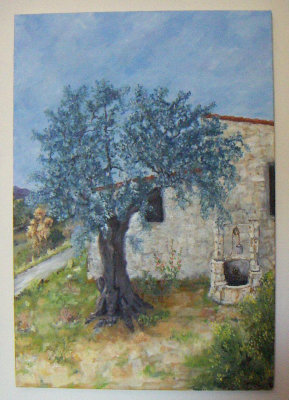 Georges RUAULT L'olivier et le cabanon