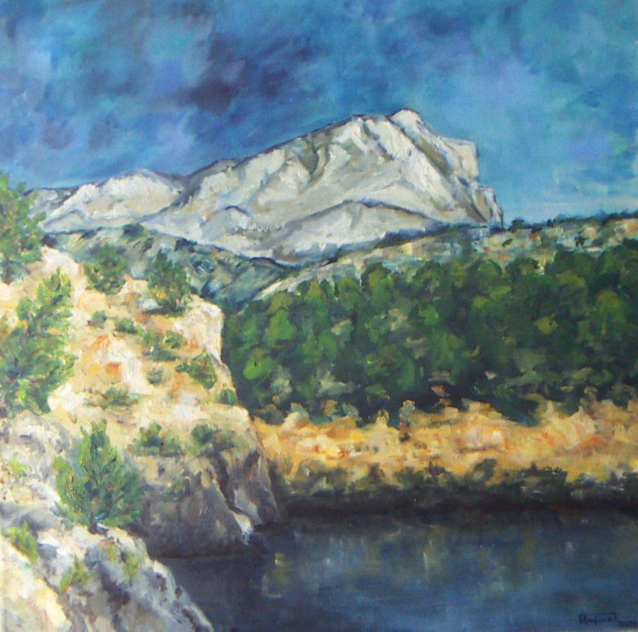 Georges RUAULT Ste Victoire Lac de Bimont