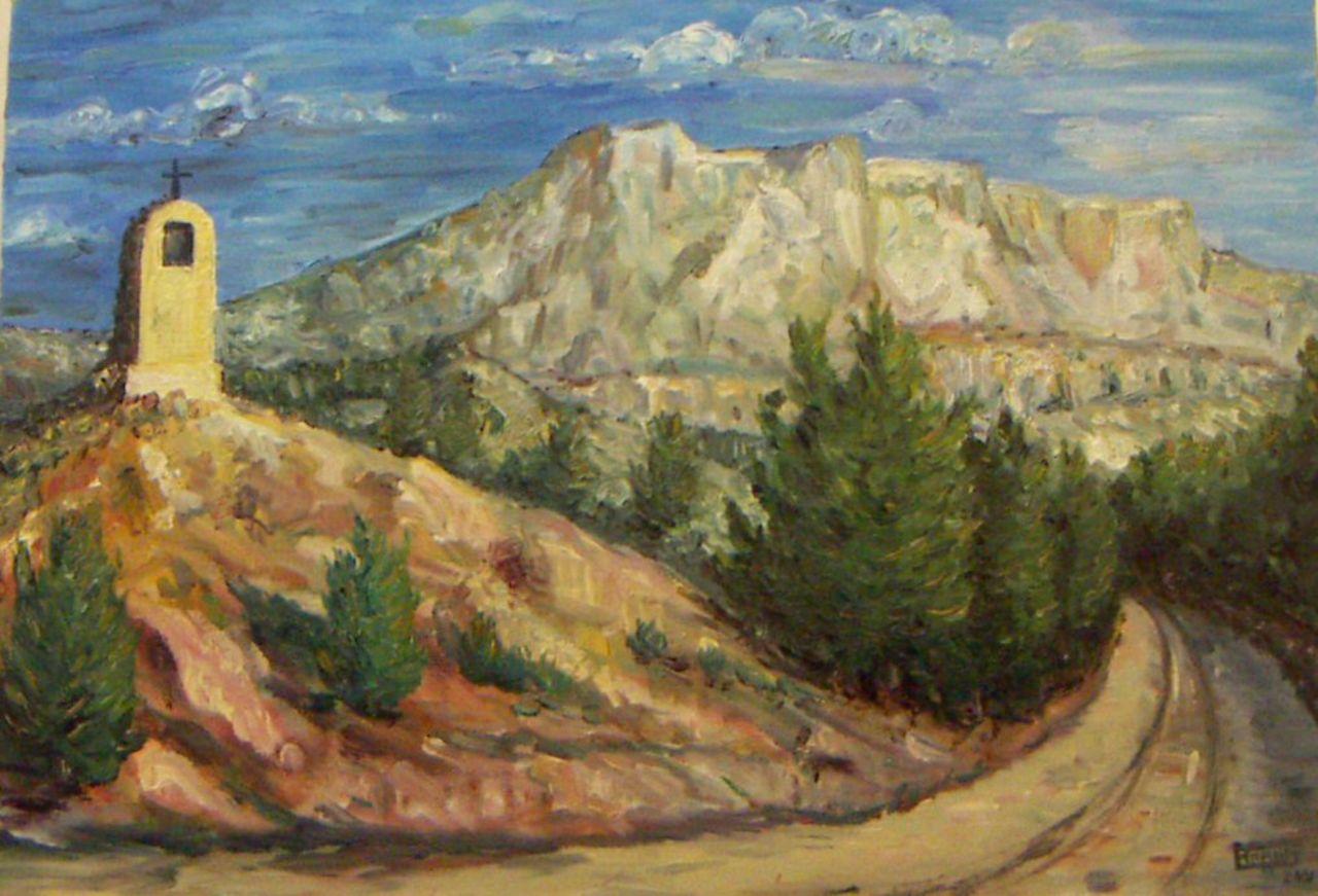 Georges RUAULT Ste Victoire vue oratoire