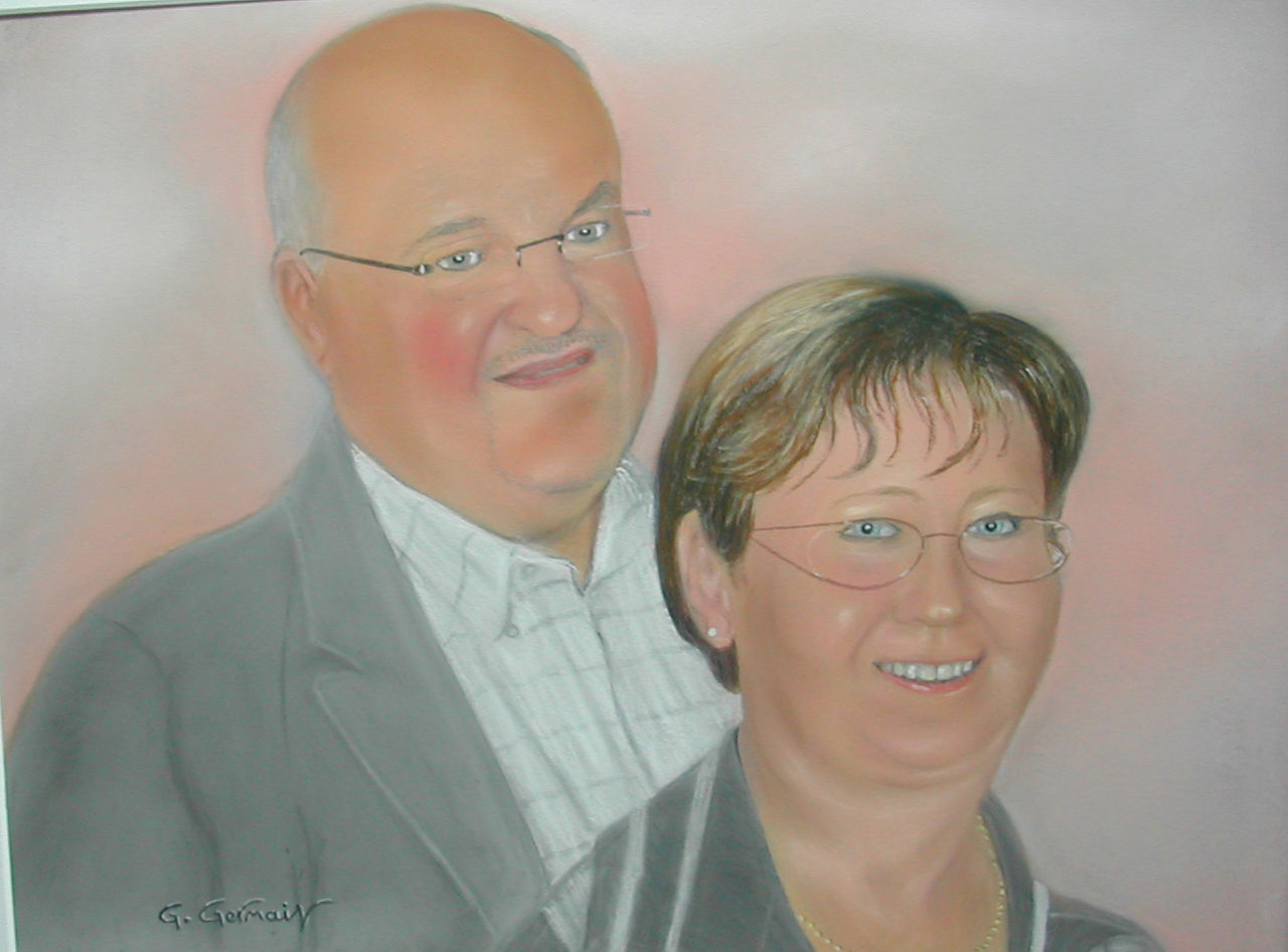 Gérard GERMAIN couple d'amis
