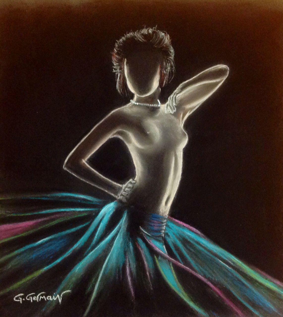 Gérard GERMAIN danseuse nue