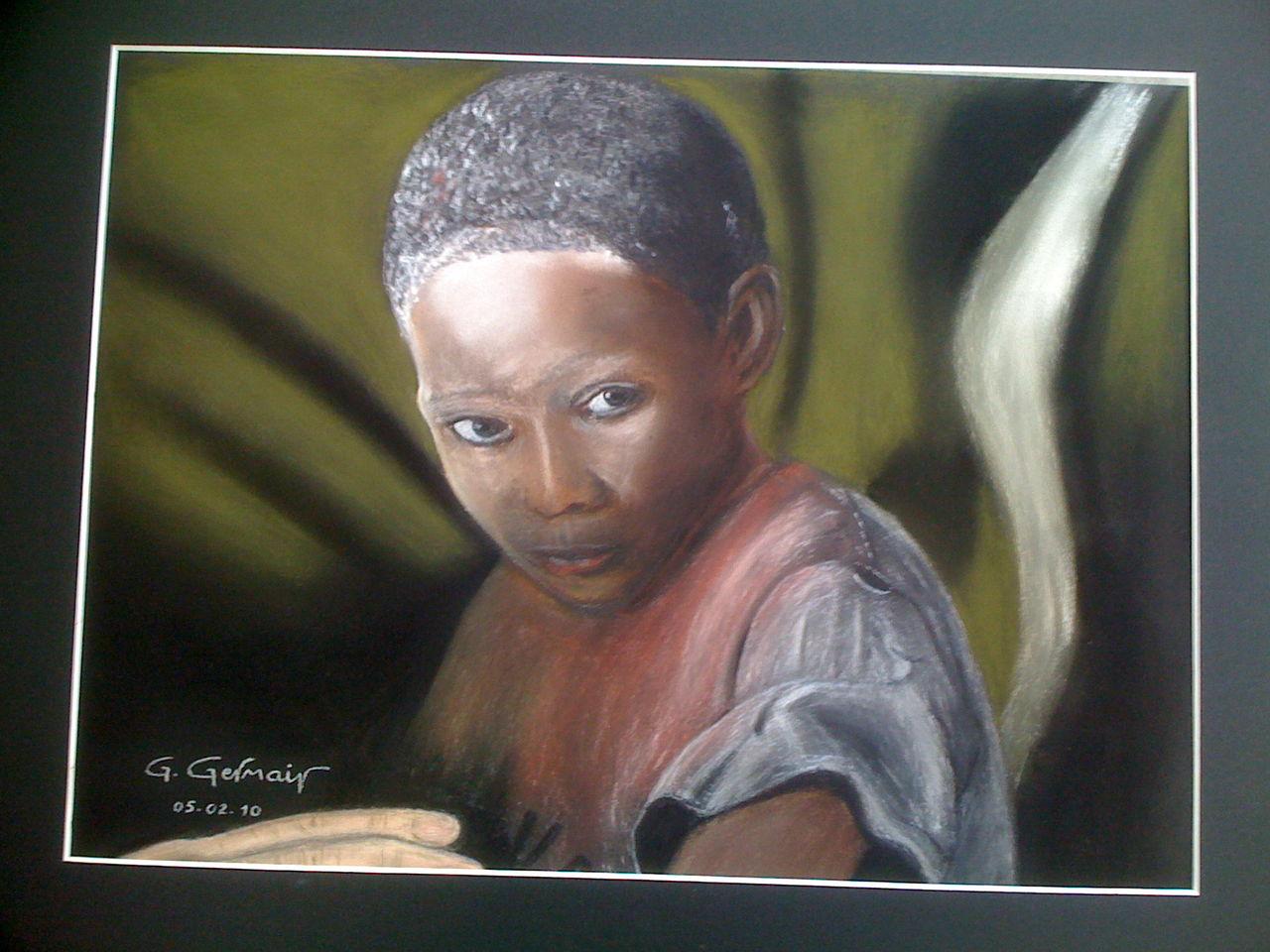 Gérard GERMAIN Enfant d'Haïti