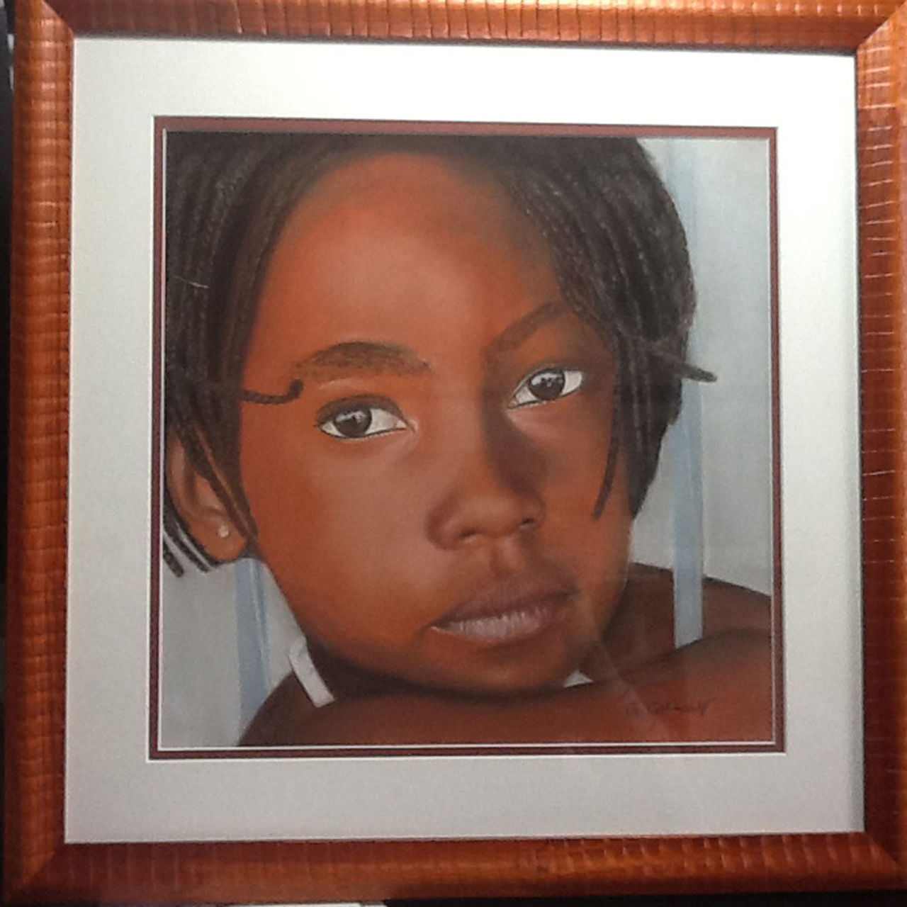 Gérard GERMAIN fillette africaine