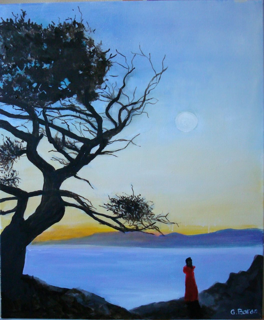 guy baron l'arbre et la mer