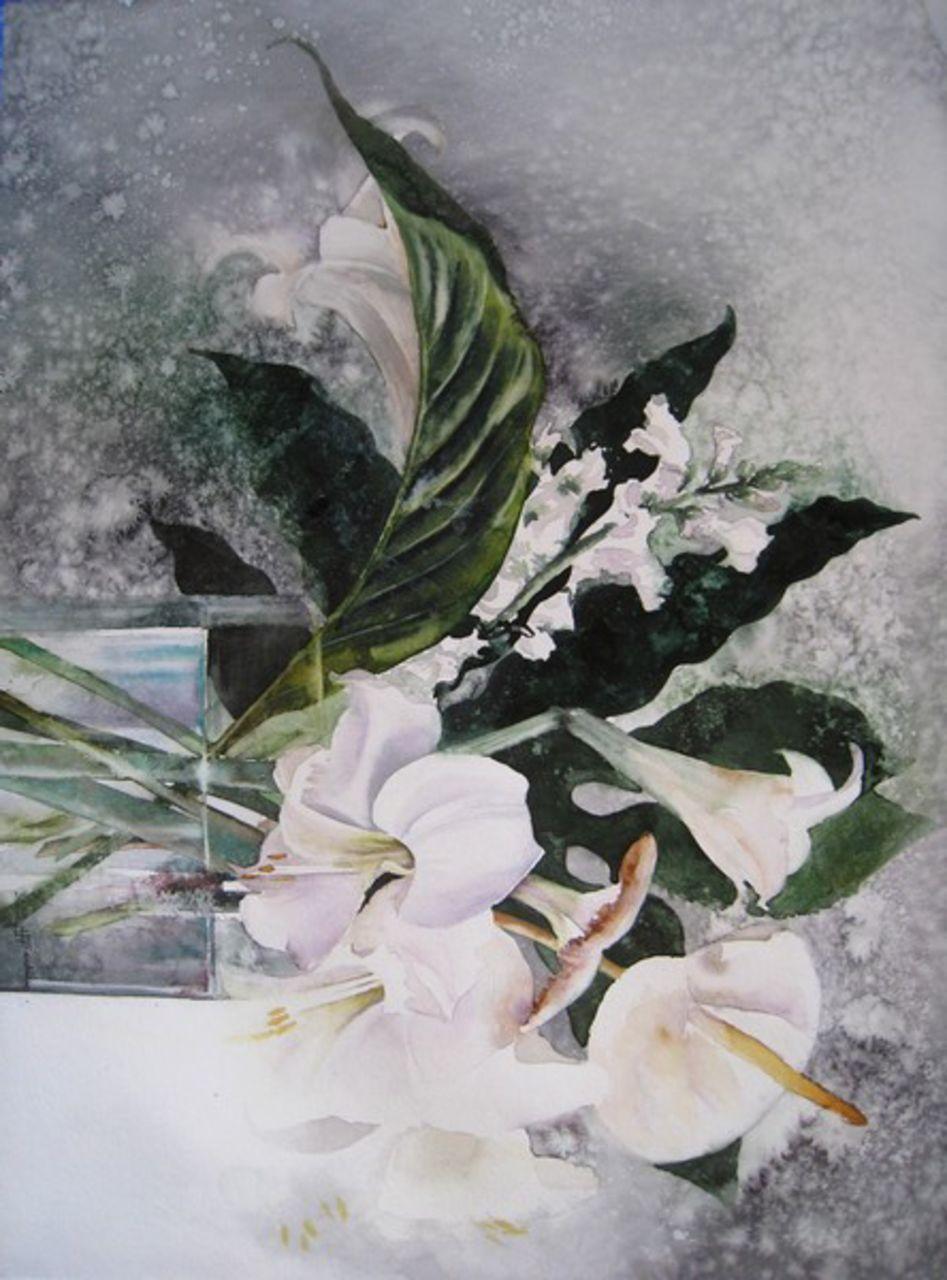 Isabelle Fournier Perdrix Bouquet blanc