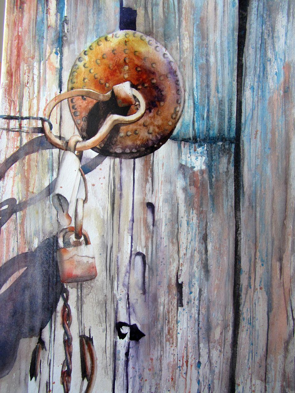 Isabelle Fournier Perdrix le cadenas