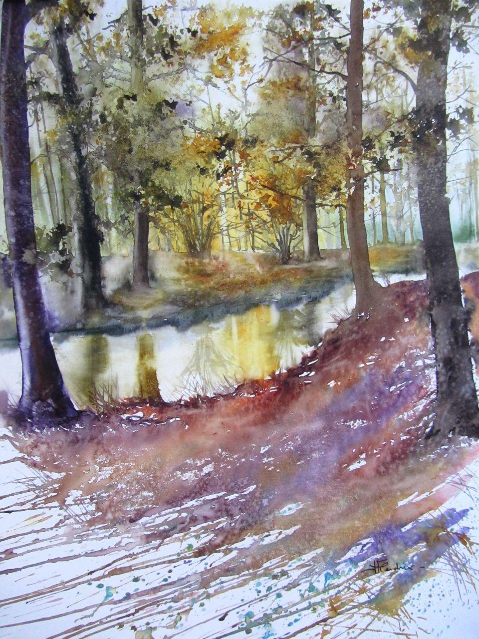 Isabelle Fournier Perdrix fin d'automne