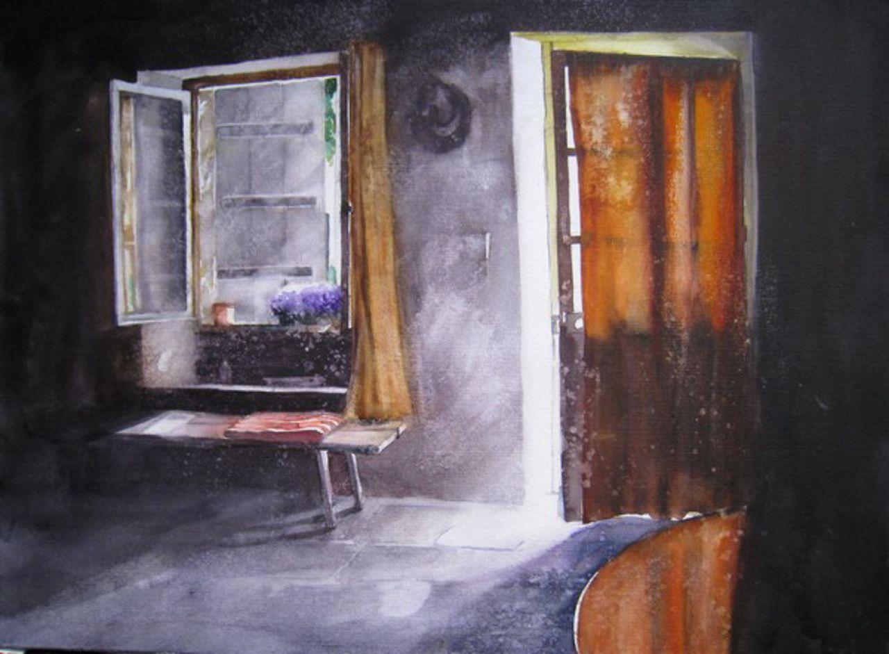 Isabelle Fournier Perdrix derrière la porte