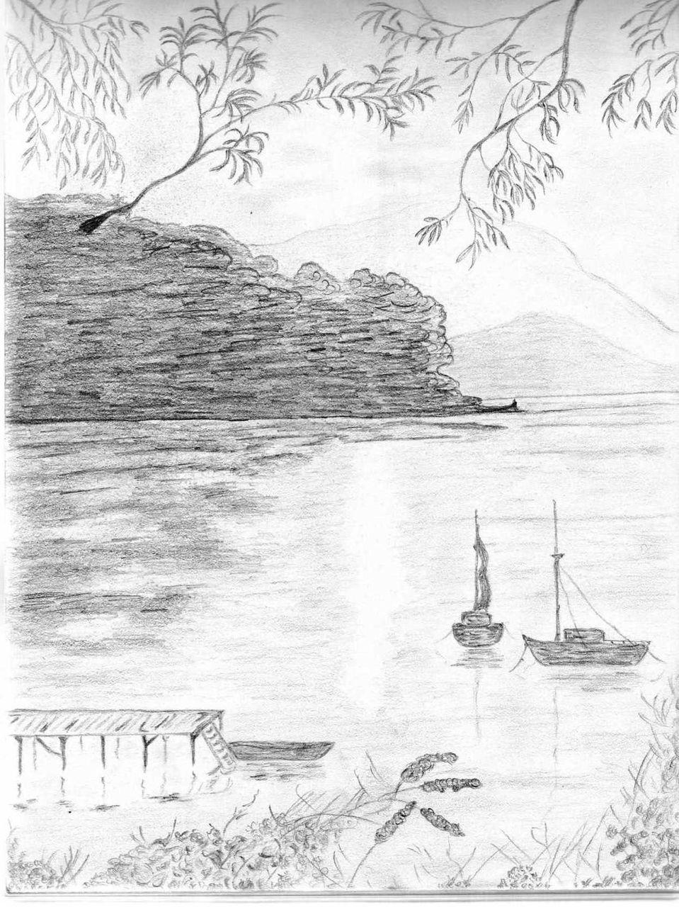 Isabelle Paradis Vu sur mer