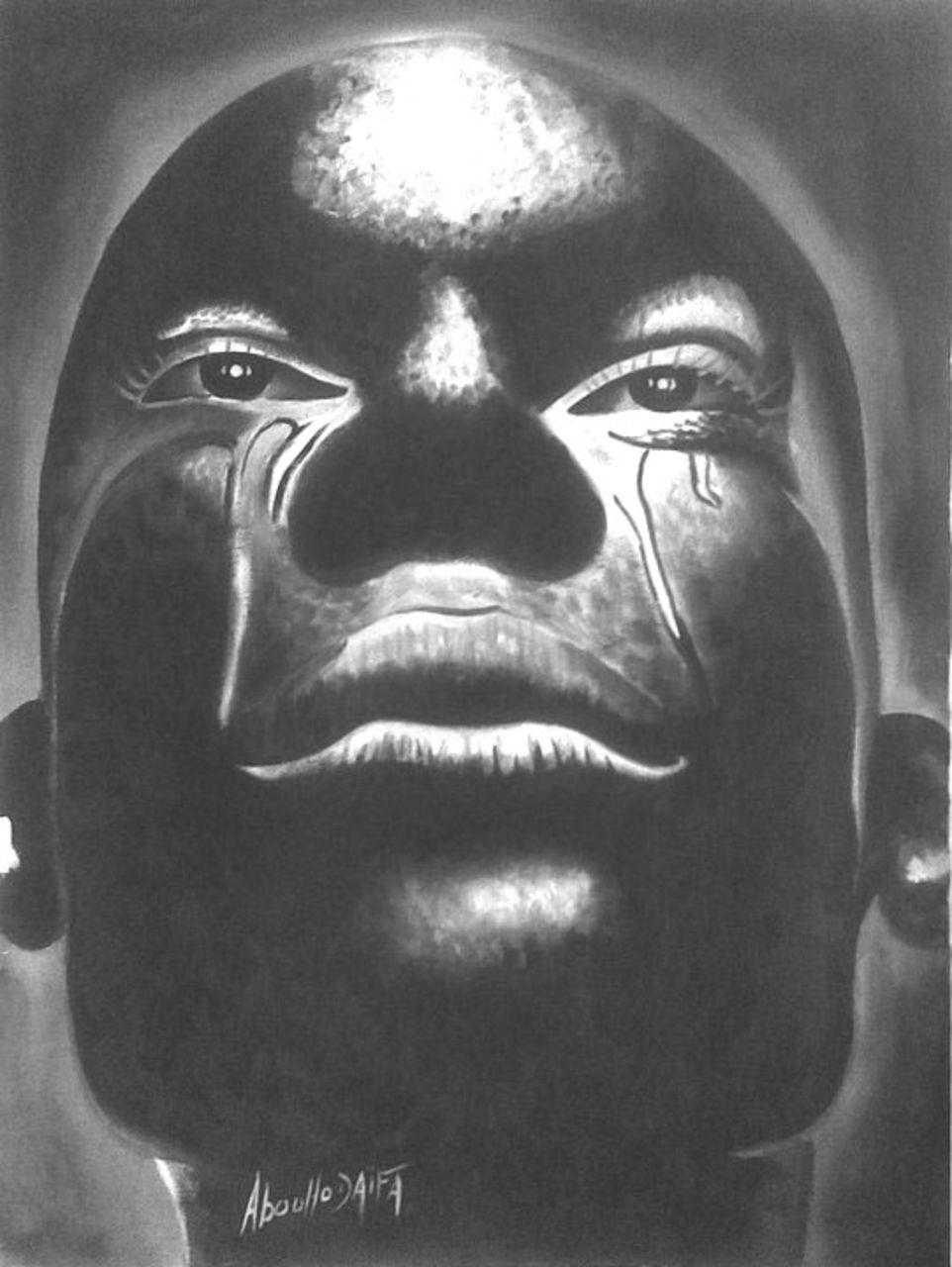 jamal Abouhodaifa pleur de l'afrique