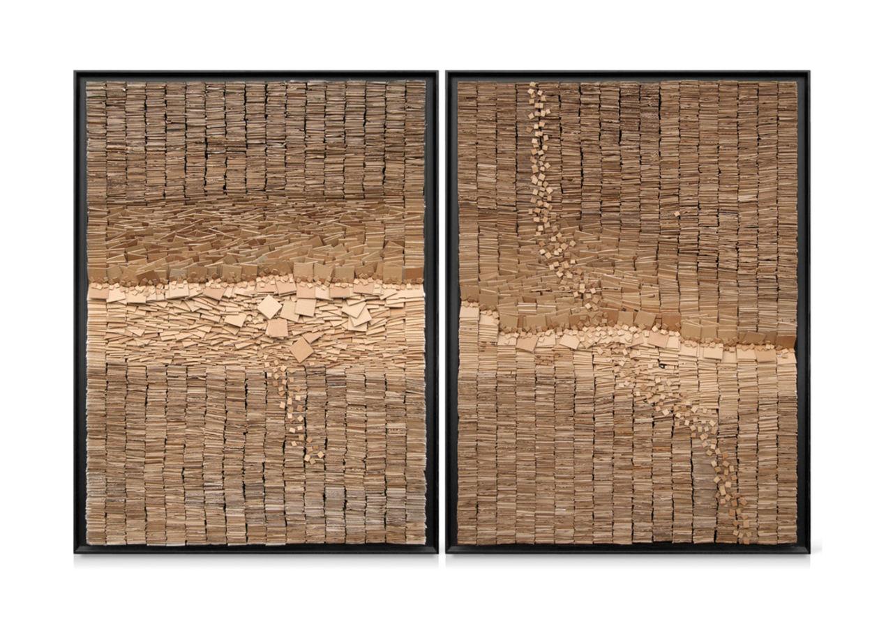 jean-michel buche 76 - Tchamba 2X (89x129cm)  (non disponible.)