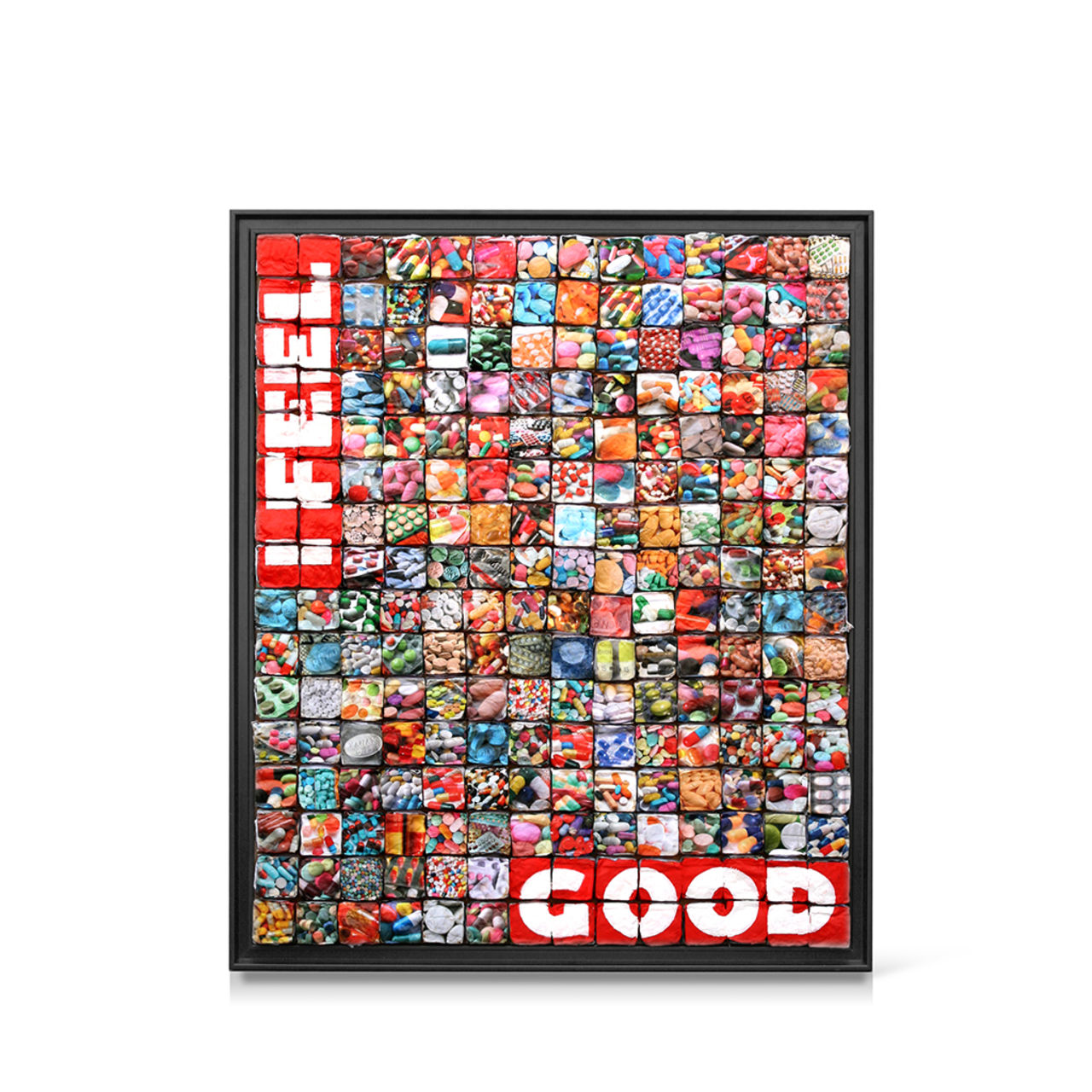 jean-michel buche 96 - I feel good. 110X130cm