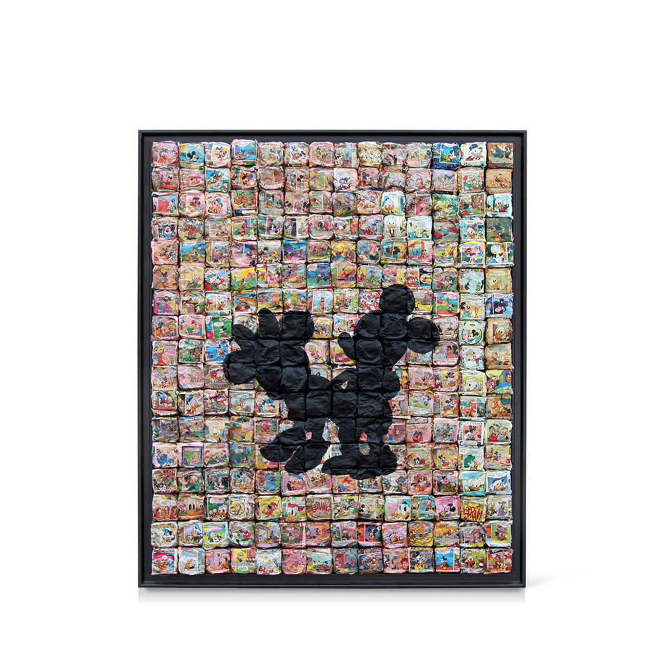 jean-michel buche 98 - Niquée mouse. 110X130cm