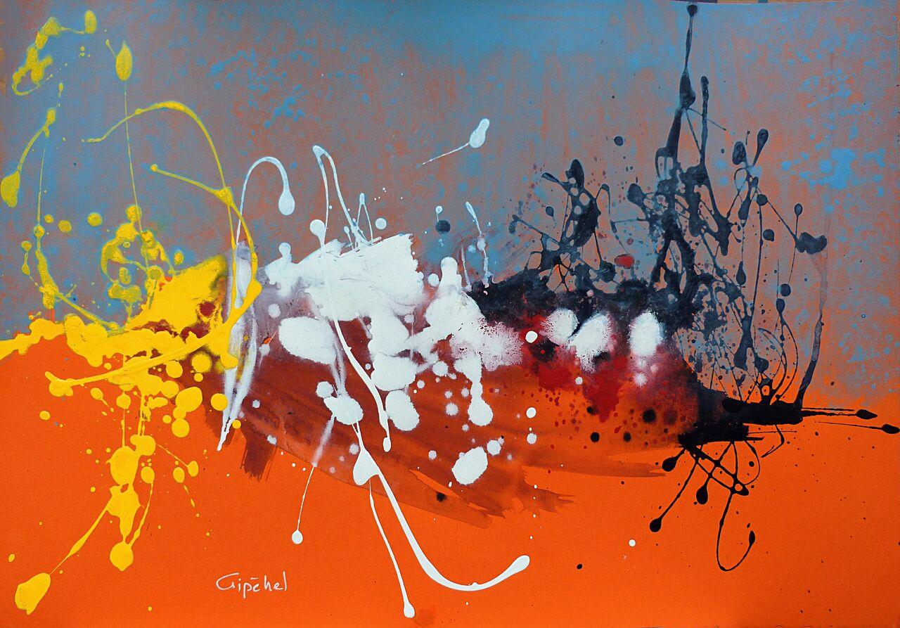 Jean-Paul Lecoeuvre La Pagaille - Abstraction lyrique