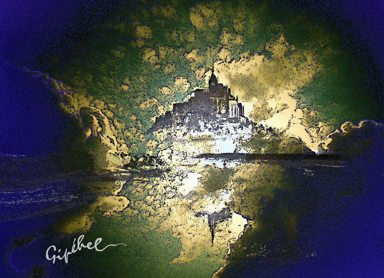 Jean-Paul Lecoeuvre Au coeur du Mont St Michel