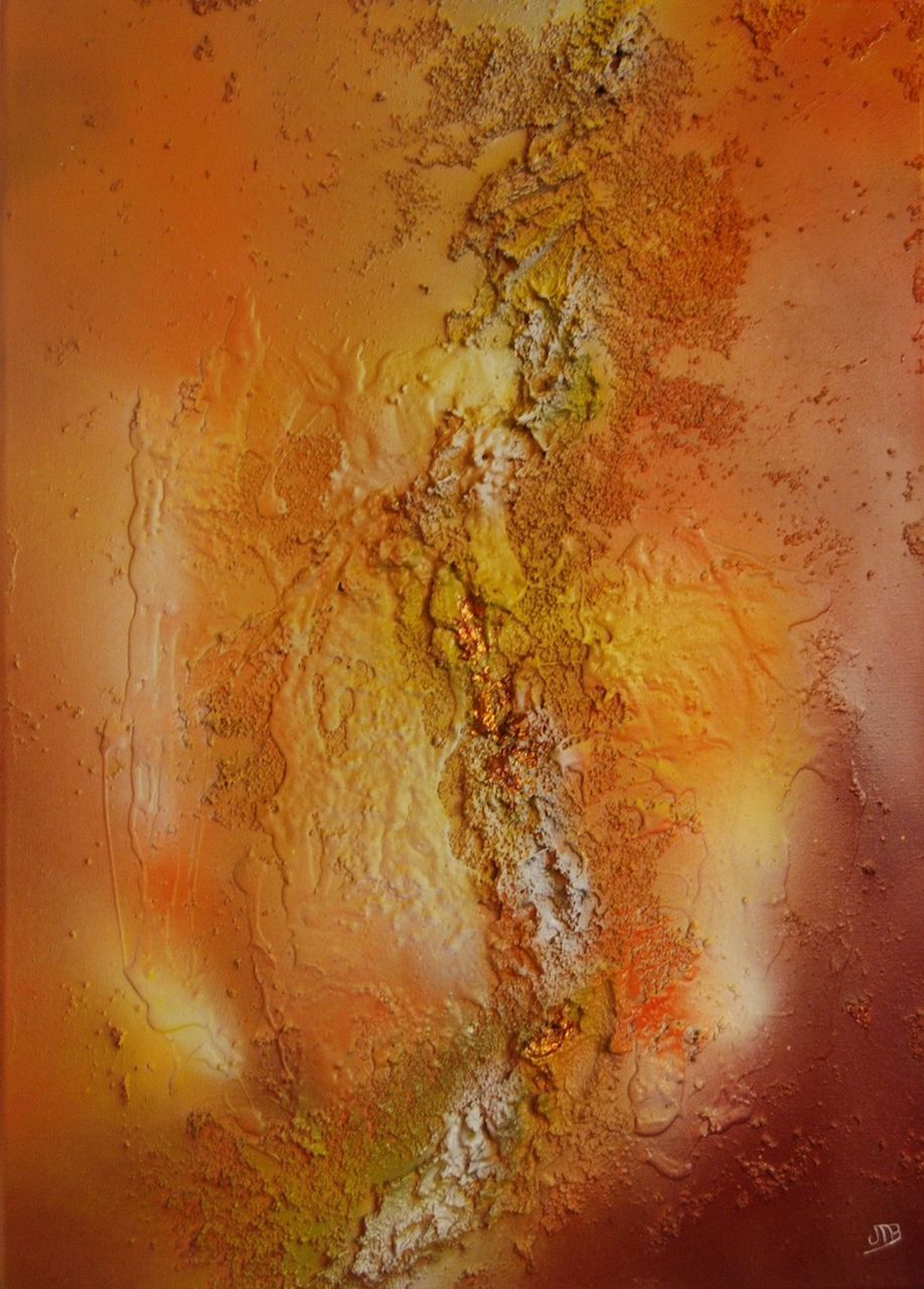 Jeanne-Marie Beuzard Intuitif orange