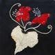 Jeanne-Marie Beuzard - Fleurs rouges