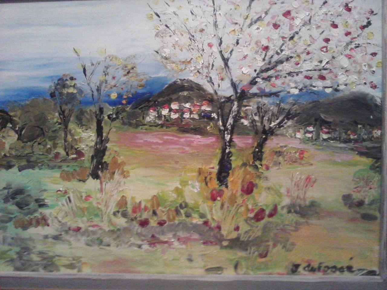jerome dufosse paysage provençial