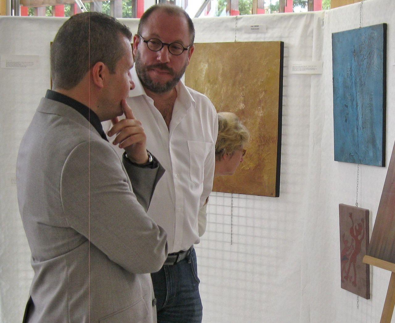 Jérôme SCHREIBER Exposition à Dannemarie (68)