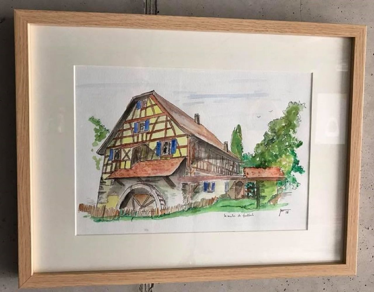 Jérôme SCHREIBER Le Moulin de Hundsbach