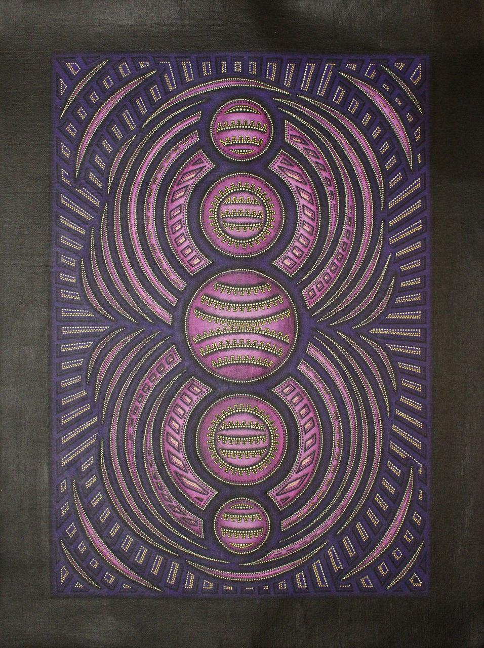 Jonathan-Pradillon Cycle violet