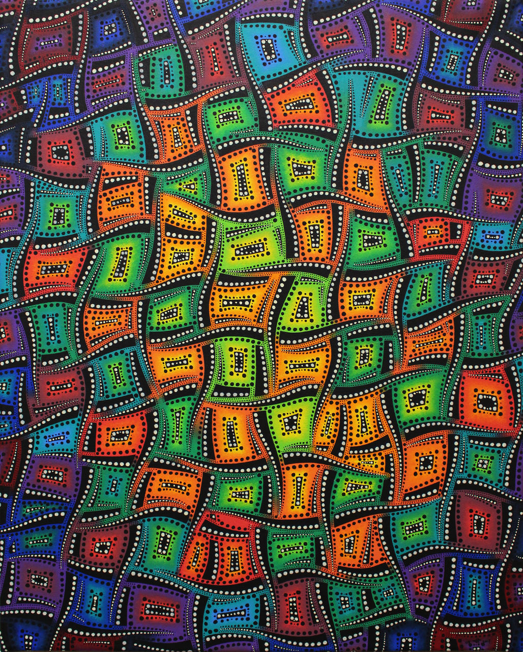 Jonathan-Pradillon Mouvements de couleurs mixtes