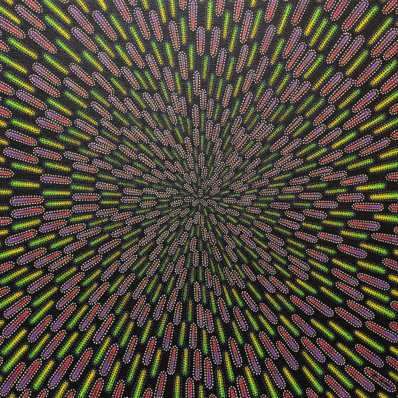Jonathan-Pradillon Particule verdâtre et pourpre