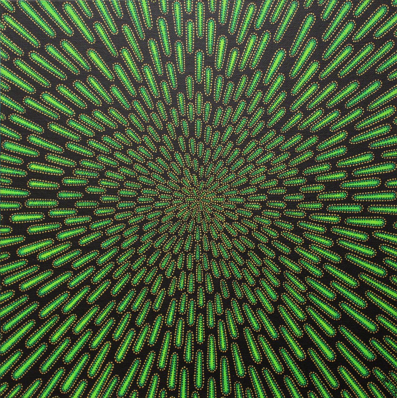Jonathan-Pradillon Particule verte