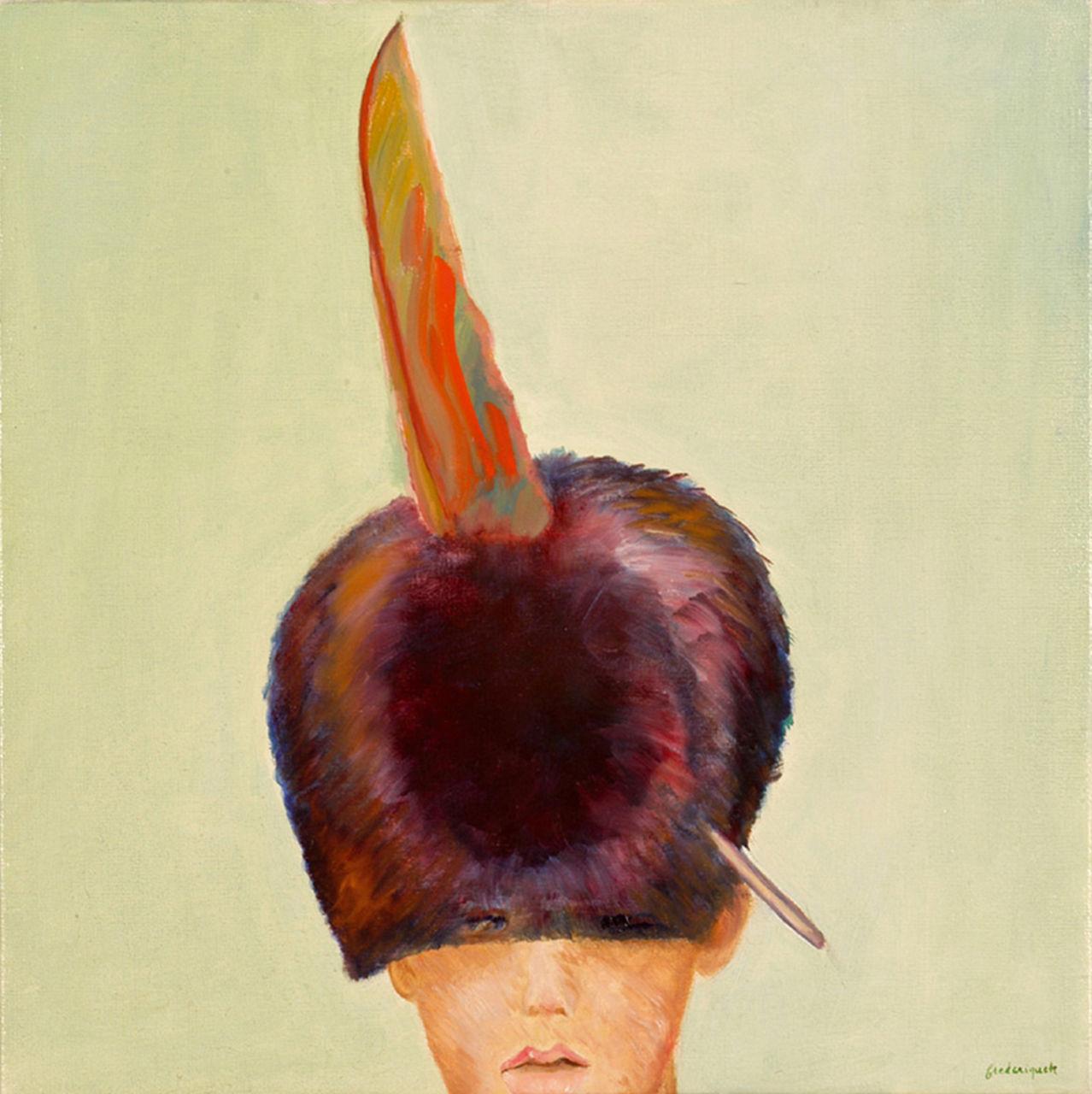 krzis-lorent frederique plume dans le chapeau