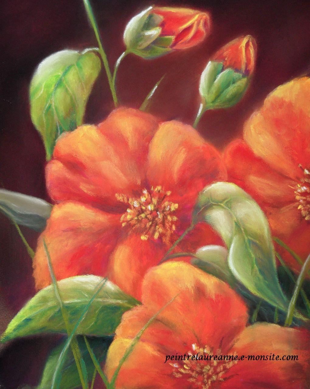 laure-anne barbier fleurs oranges