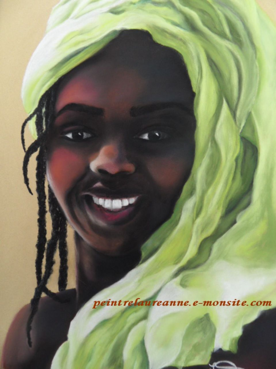 Exceptionnel femme africaine (laure-anne barbier) HI71