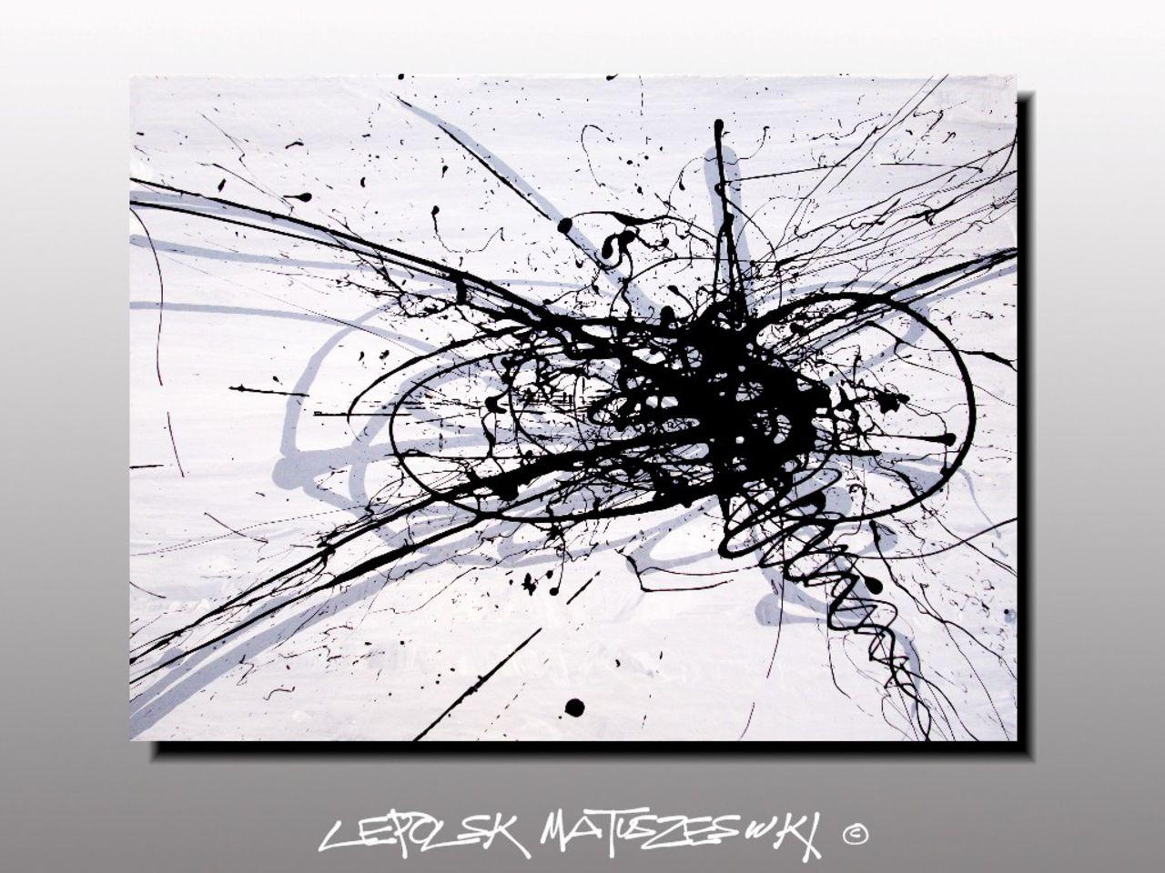 LEPOLSK MATUSZEWSKI SHADOW OF MOVEMENT / L'OMBRE DU MOUVEMENT expressionnisme abstrait