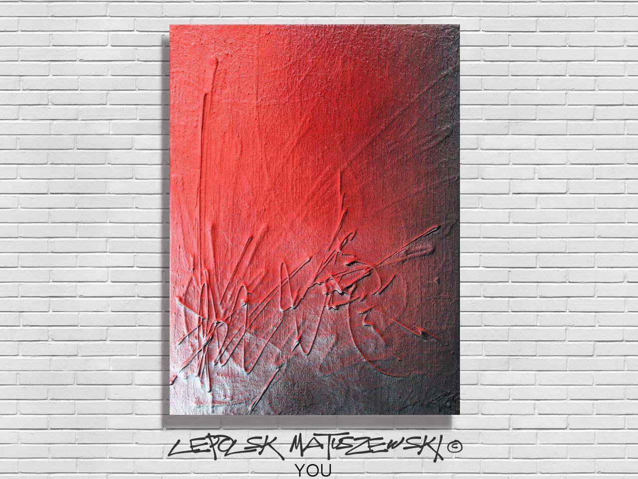 LEPOLSK MATUSZEWSKI YOU  Expressionnisme abstrait Lepolsk Matuszewski