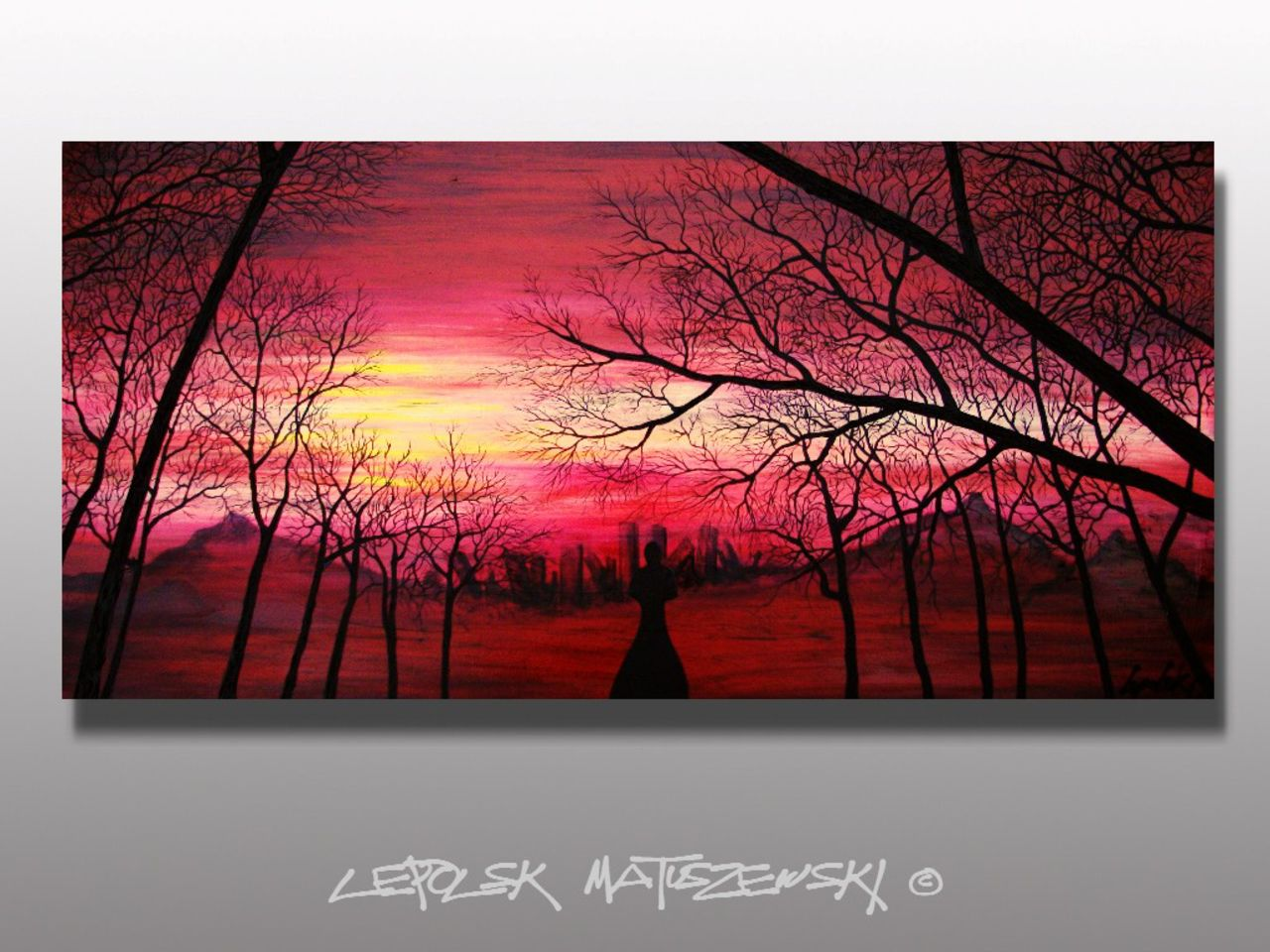 LEPOLSK MATUSZEWSKI EXCITATORIA LUMINA    art innabstrait Lepolsk Matuszewski