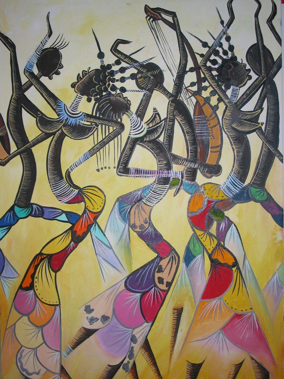 leticia crolle mahoungou peinture