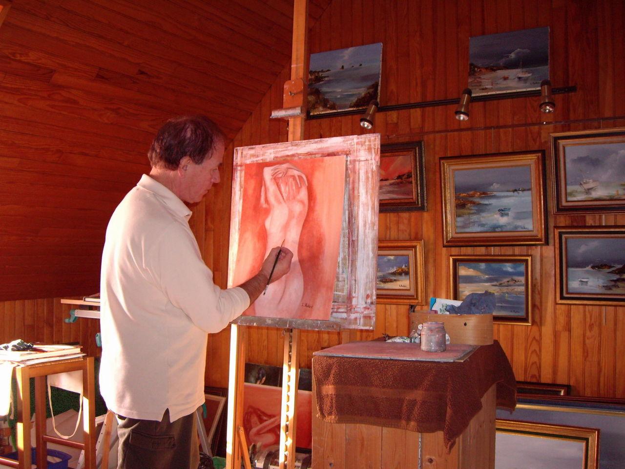Louis Rolo atelier du peintre