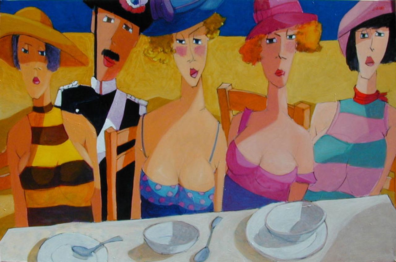 Lucio Diodati 2001 - La grande tavola