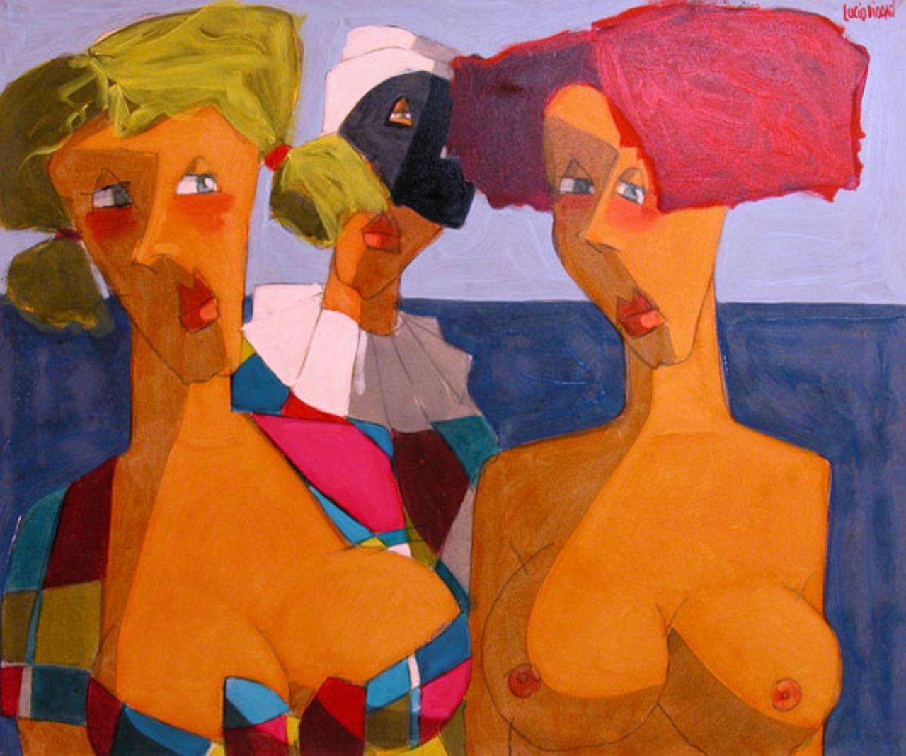 Lucio Diodati  2005 -  mi dipingerò di te
