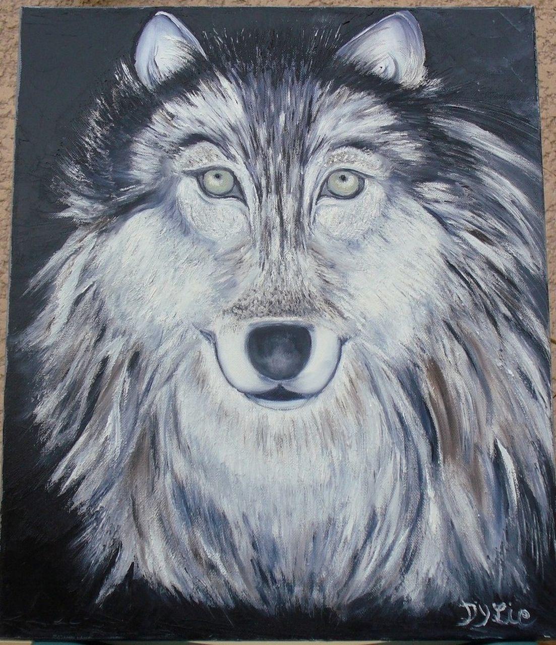 lydie dylie tête de loup