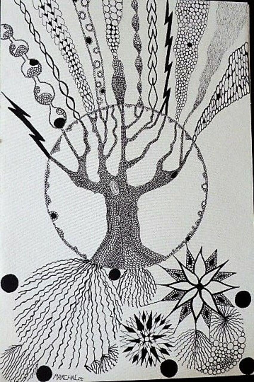 Marie-Christine  MARCHAL Un arbre