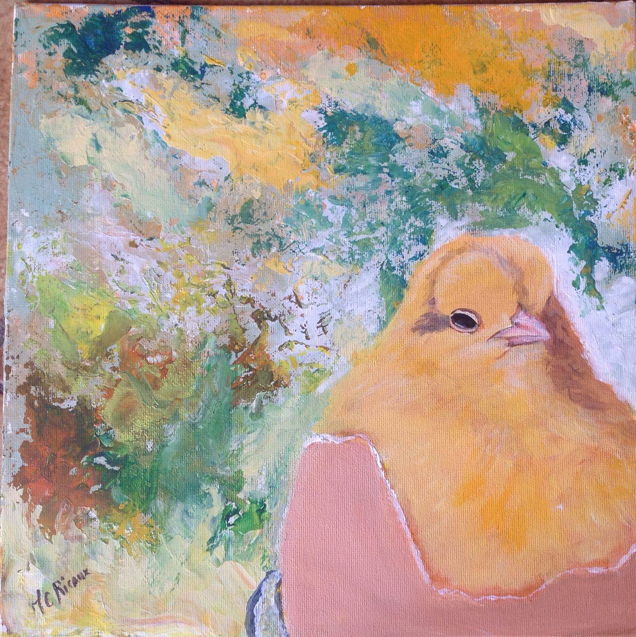 Marie Claire  Ricaux l'oeuf et le poussin