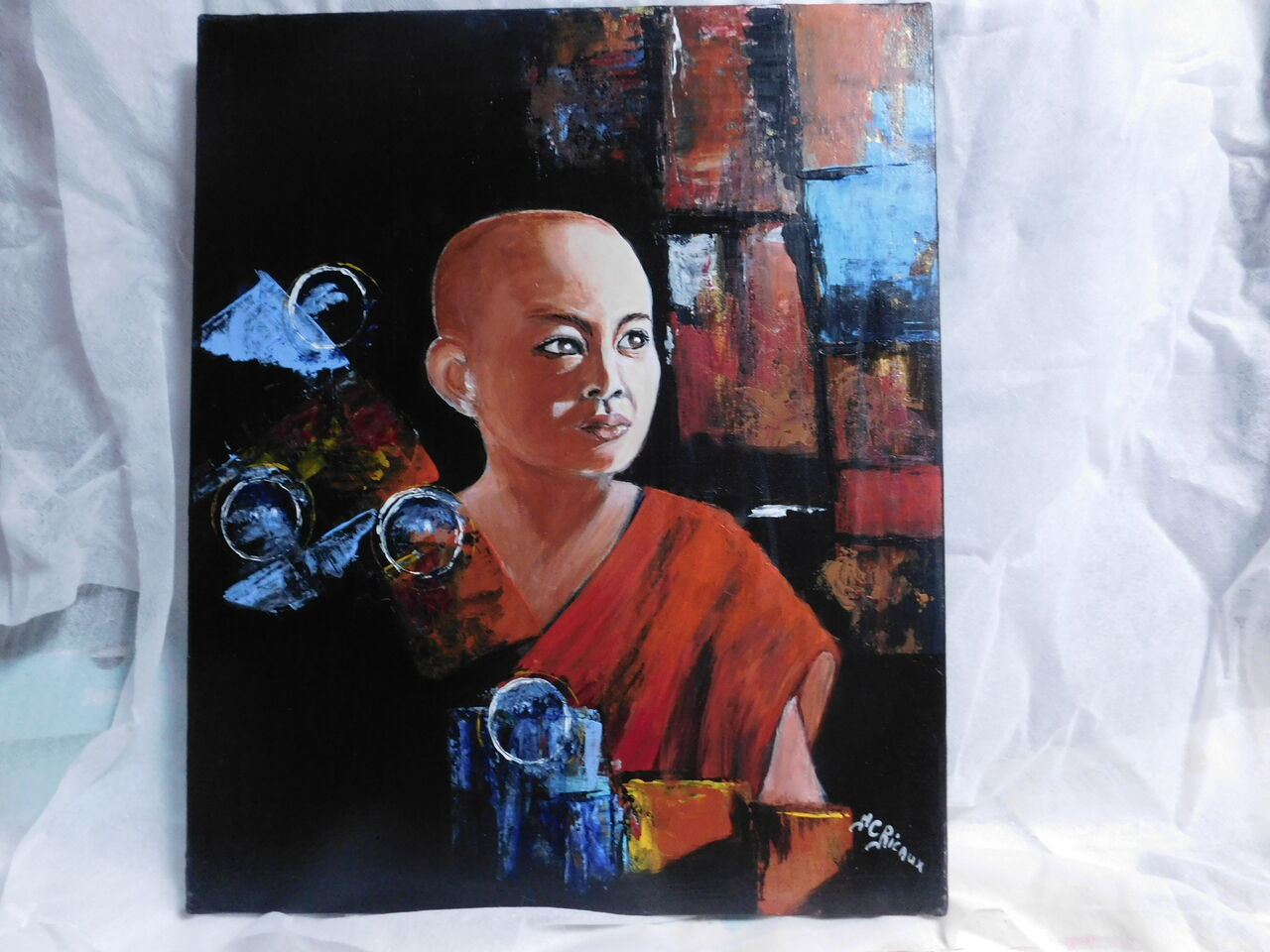 Marie Claire  Ricaux moinillon Laos