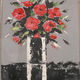 Marie Claire  Ricaux - 2015bouquet noir et rouge