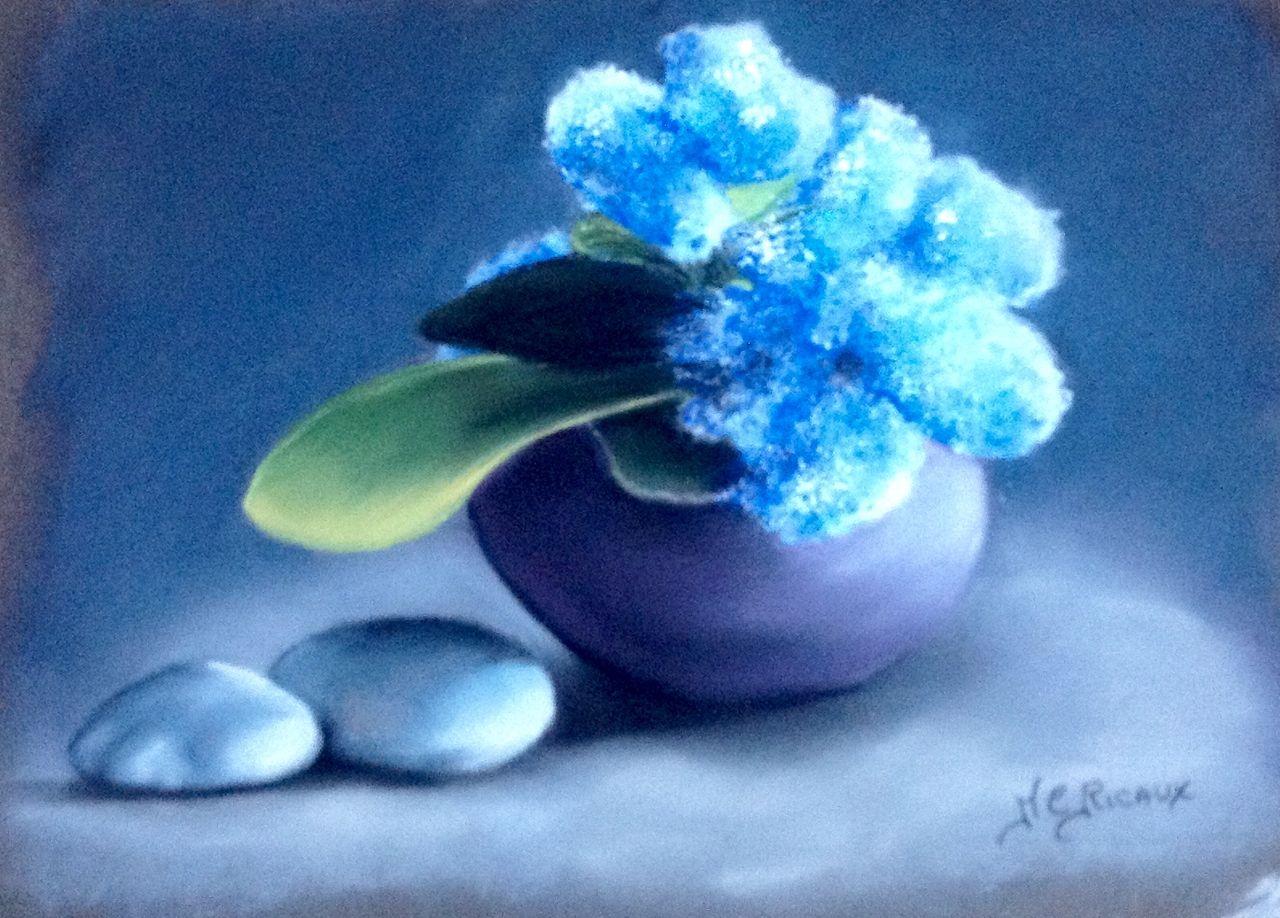 Marie Claire  Ricaux bouquet bleu