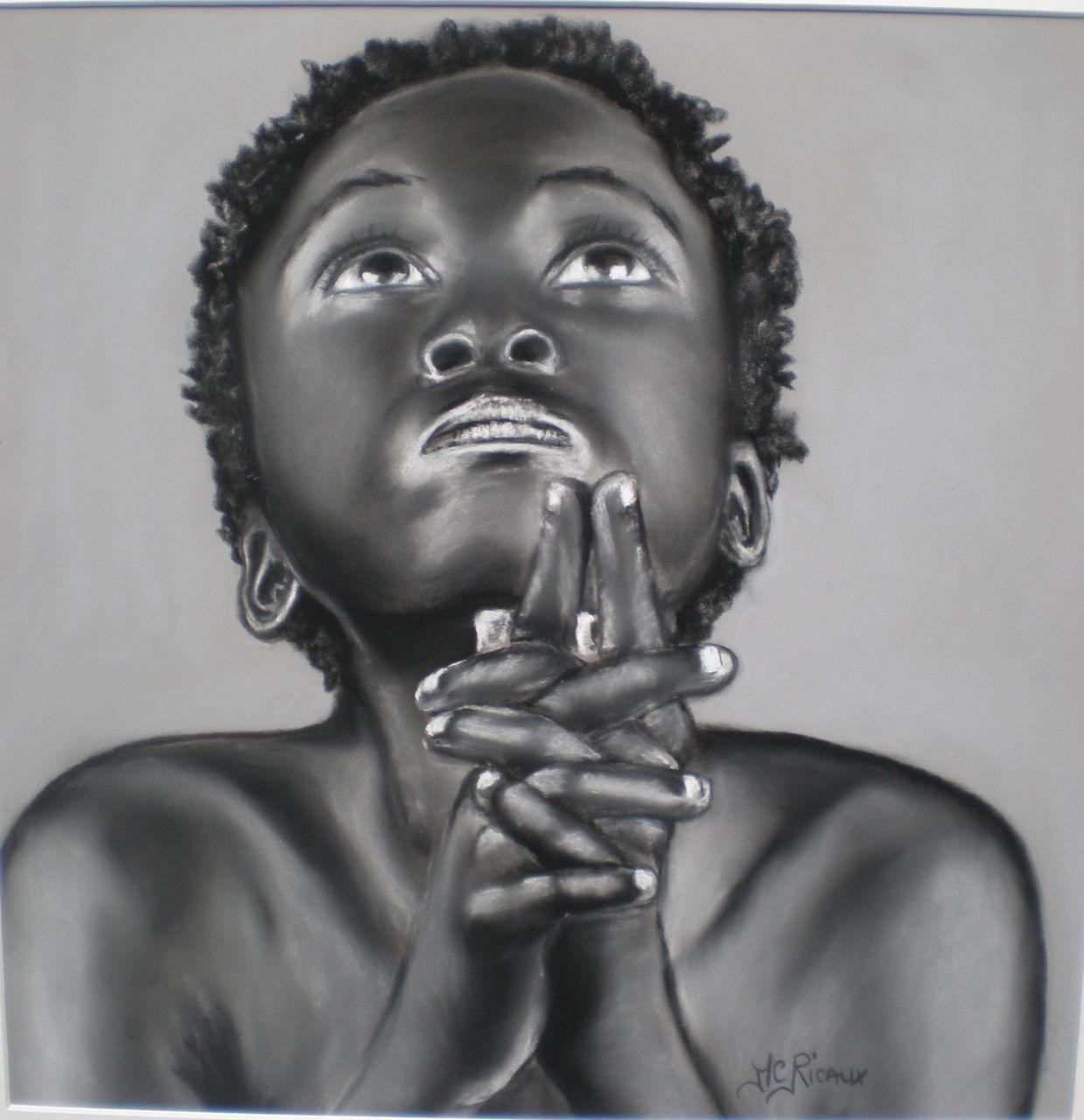 Marie Claire  Ricaux la prière