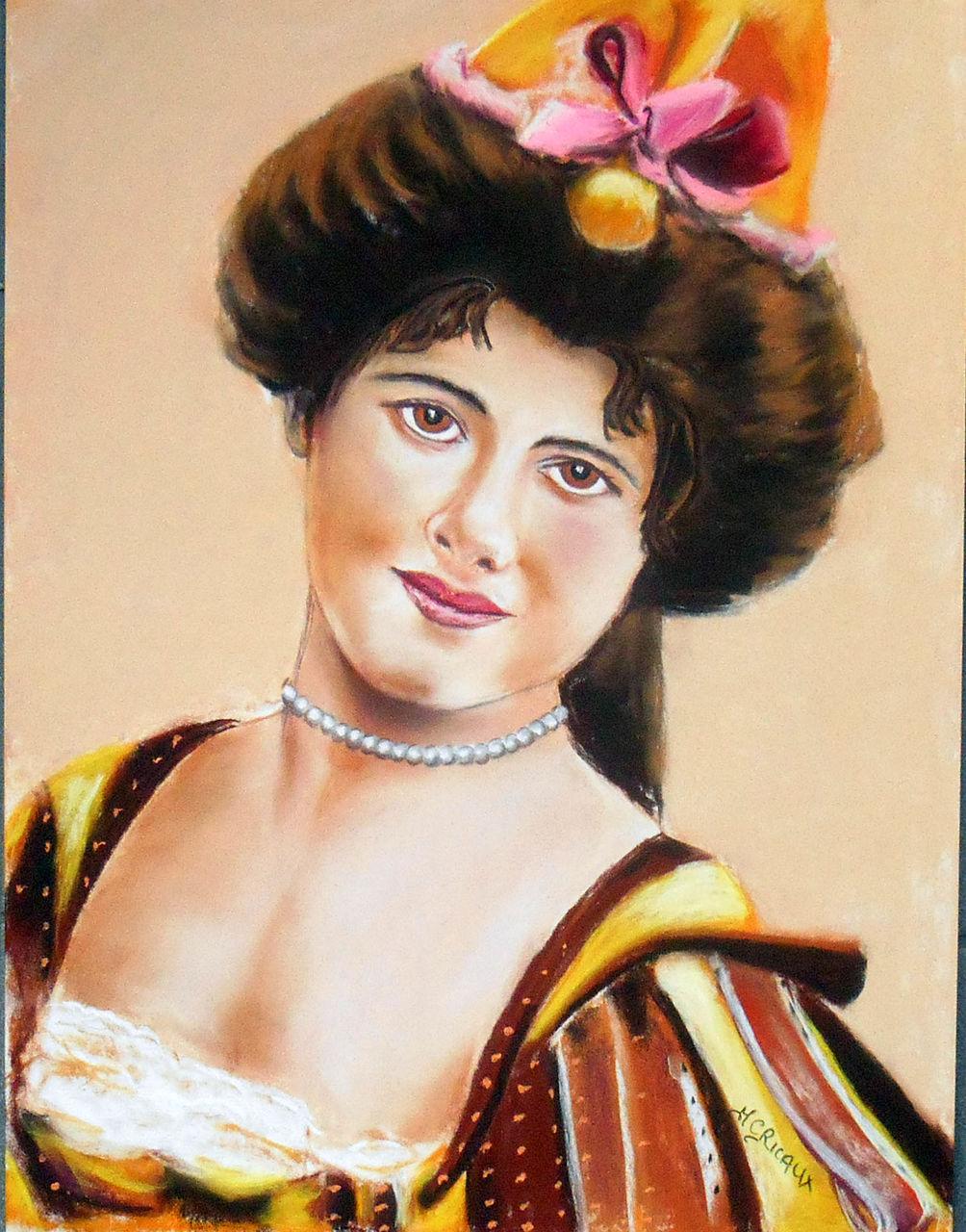 Marie Claire  Ricaux mademoiselle Ricaux 1903