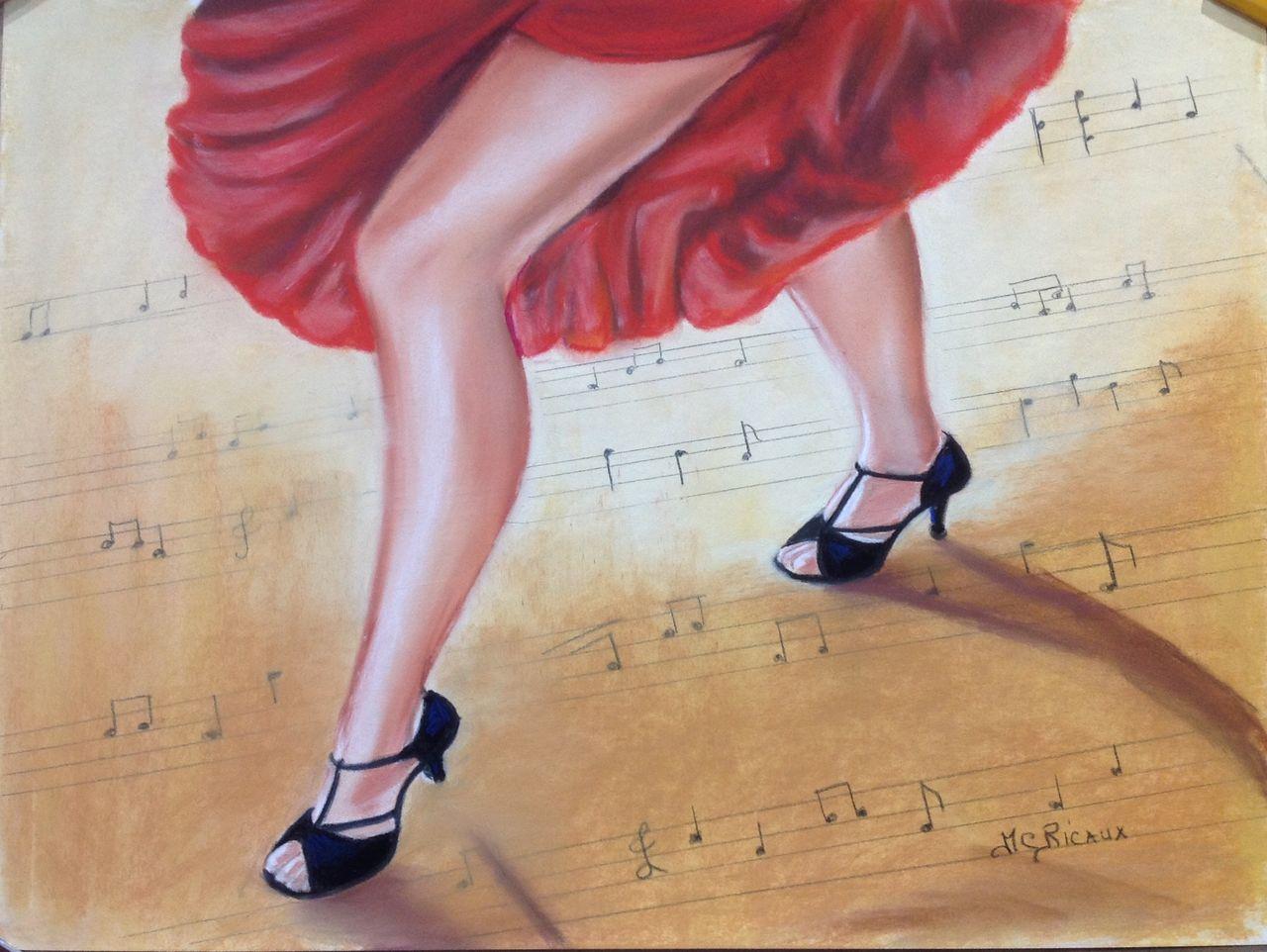 Marie Claire  Ricaux pas de danse