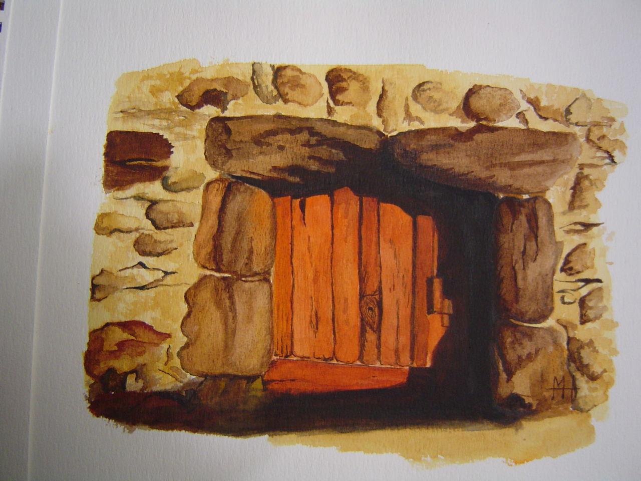 Marie-Hélène CLINCHAMPS vieille porte du Perche